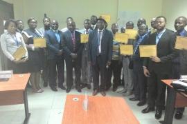 Clôture formation de Congo Airways    SA