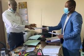 Grand jour pour le personnel et mandataires actifs de l'ARMP avec la signature de la convention médicale